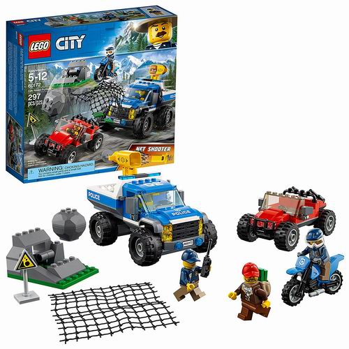 LEGO 乐高 60172 城市系列 山地警察 6折 29.99加元,原价 49.99加元