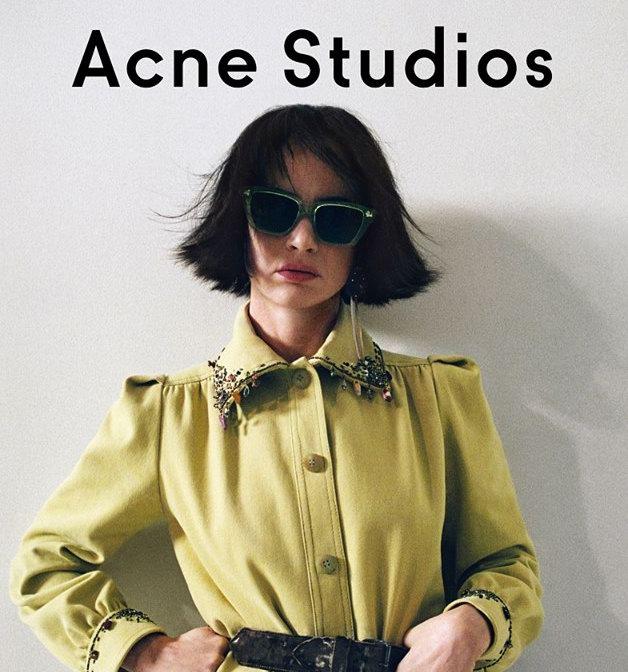 折扣升级!Acne Studios经典飞行员夹克、毛衣、围巾、大衣3.4折起!