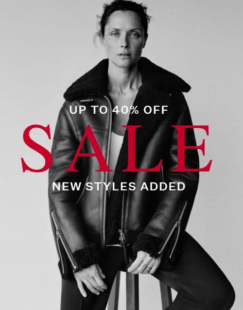 AllSaints 最有个性夹克、大衣 6折起特卖!超多热卖款也打折!