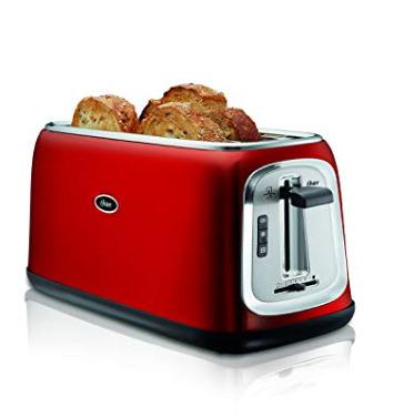 史低价!Oster 4片烤面包机 39.98加元,原价 54.99加元,包邮