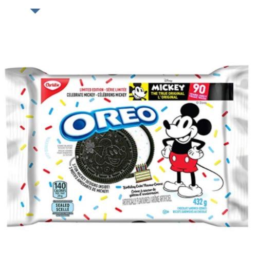 Oreo 奥利奥米奇巧克力饼干 3.99加元,原价 4.99加元