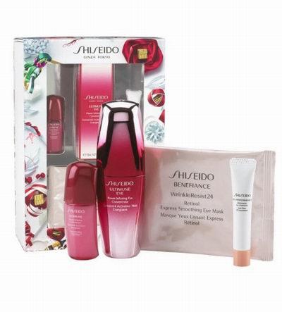 Shiseido Ultimune 红妍肌活眼部精华露 4件套 68加元,原价 78加元,包邮
