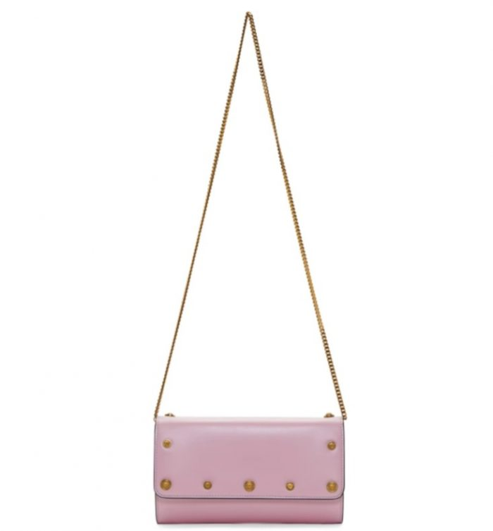 Versace Medusa Continental粉色链条包 643加元,原价 1495加元,包邮