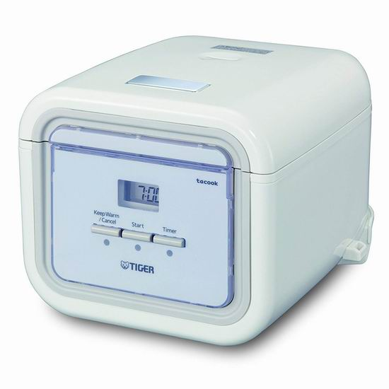 历史新低!Tiger 日本虎牌 JAJ-A55U-WS Mincom 3杯量 微电脑多功能电饭煲 148.98加元包邮!