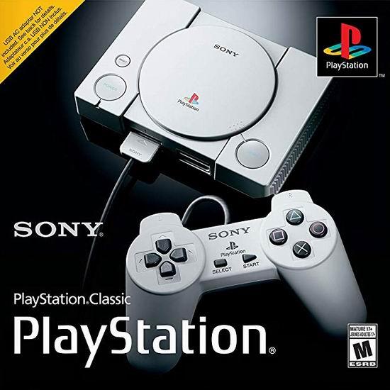 新品 PlayStation Classic 双手柄 复刻迷你游戏机6.2折 79.95加元包邮!内置20款经典游戏!