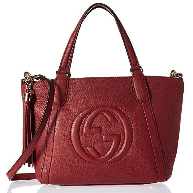Gucci Top 双G 女式时尚手袋 1436.55加元包邮!