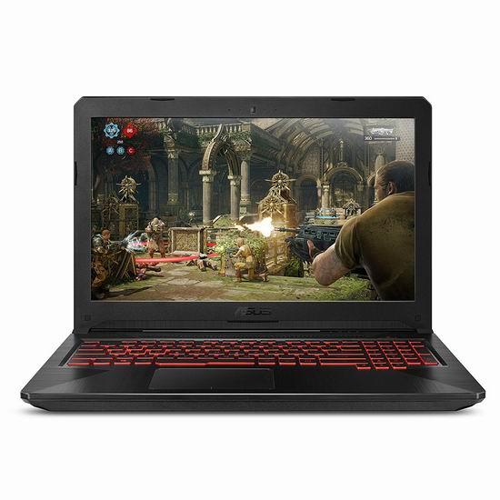 历史新低!ASUS 华硕 FX504GM-AB71-CA 15.6寸游戏笔记本电脑(GTX 1060, 16GB, 1TB + 128GB SSD) 1299.99加元包邮!