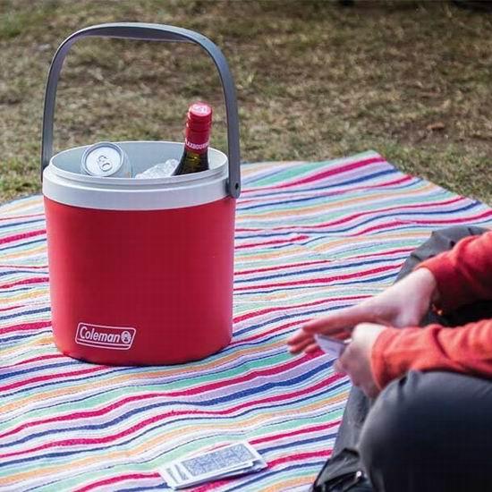 历史新低!Coleman 12罐容量 野餐保温桶3.2折 7.63加元清仓!