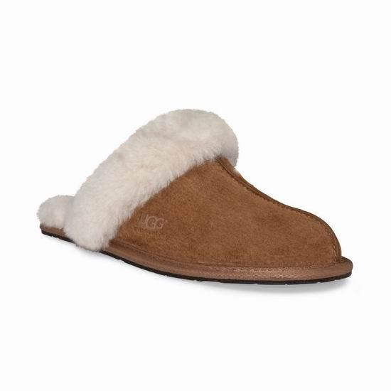 码齐速抢!UGG Scuffette Ii 女士羊毛拖鞋5折 52.5加元包邮!仅限图示款!