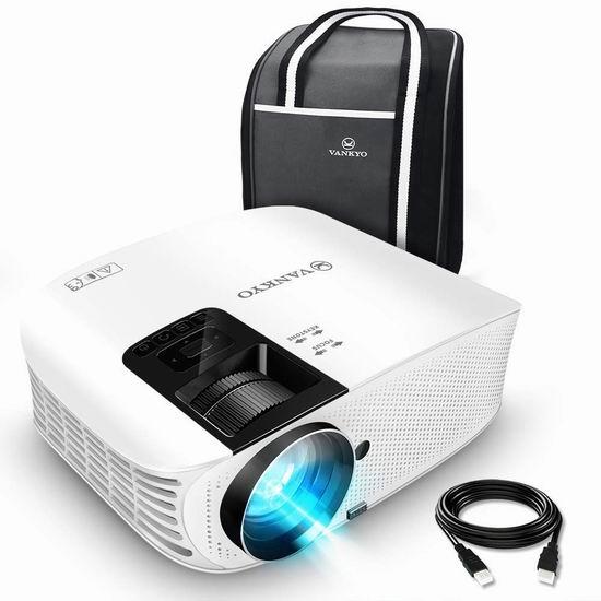 VANKYO Leisure 510 3600流明 1080P 家庭影院投影仪 207.99加元限量特卖并包邮!