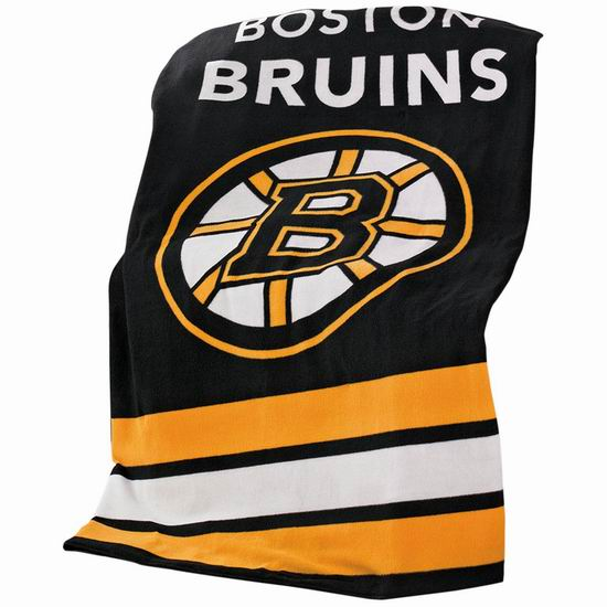 Sunbeam NHL 冰球联盟 Boston Bruins 多用途保暖电热毯5折 34.99加元!