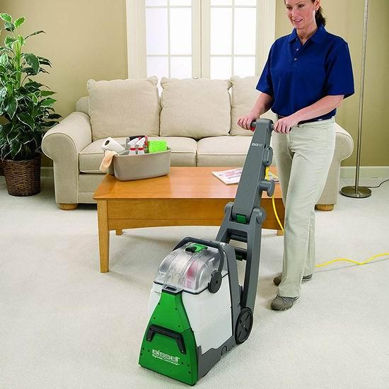 Bissell 必胜 BG10 大绿 商业级双马达 专业地毯清洗机 591加元包邮!