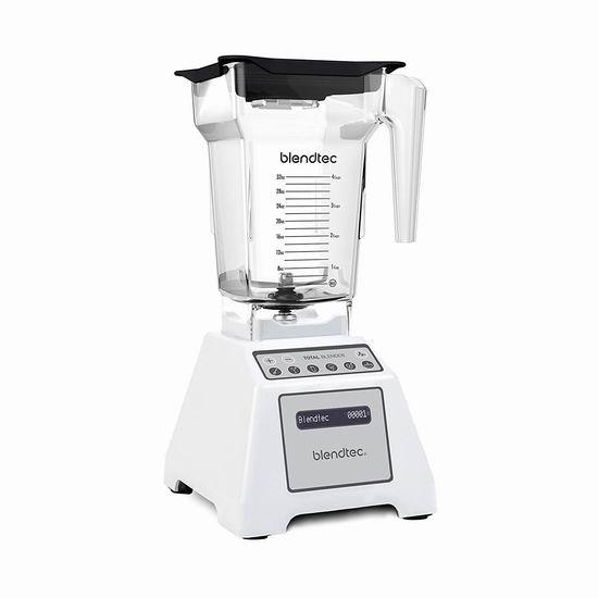 历史新低!Blendtec TB-611-20 Total 白色 全营养多功能 破壁料理机5.1折 400.99加元包邮!