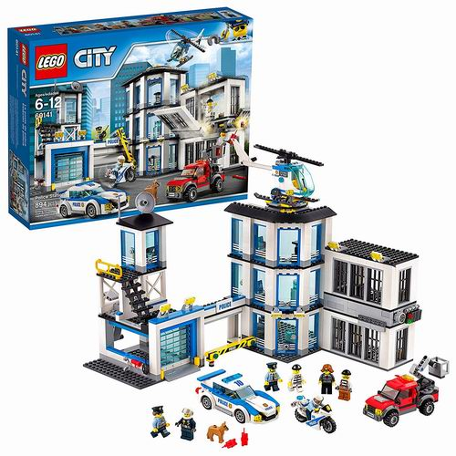 LEGO 乐高 60141 城市系列 警察总局(894pcs) 84.99加元,原价 129.99加元,包邮