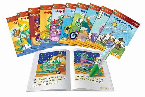 LeapFrog 点读笔+10本书套装 38.23加元,原价 59.99加元