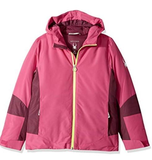 Spyder Charm 女童防寒服 50.11加元起(4色),原价 98.98加元,包邮