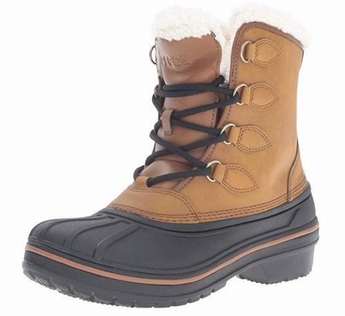Crocs AllCast II 人造羊毛衬里 女款雪地靴 72.83加元,原价 119.99加元,包邮