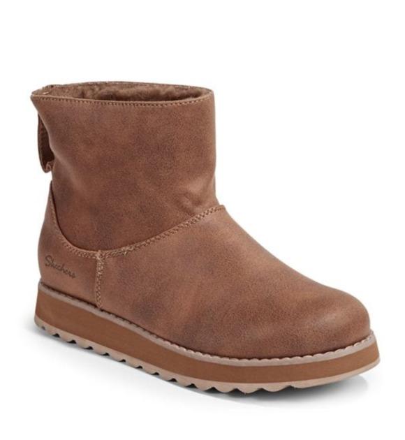 Skechers Keepsakes 2.0 女款雪地靴 50.57加元,原价 85加元