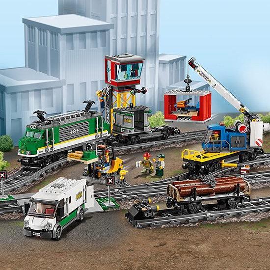 LEGO 乐高 60198 城市系列 蓝牙遥控 货运火车7.1折 184.99加元包邮!