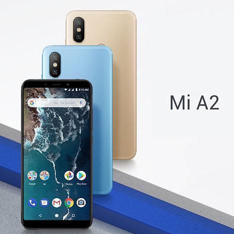 Xiaomi 小米 Mi A2 5.99英寸 双卡双待 双摄 解锁版智能手机(64GB + 4GB) 274.33加元包邮!3色可选!