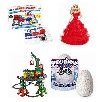 圣诞特惠!精选 Vtech、Fisher-Price、Barbie、Melissa & Doug 等品牌儿童益智玩具、玩偶等3.6折起!