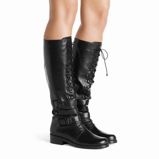 历史新低!Stuart Weitzman Policelady 女式真皮长筒警靴5.1折 515.69-601.79加元包邮!两色可选!