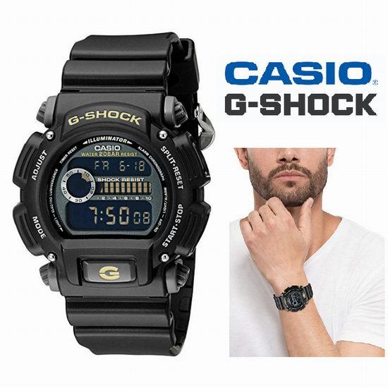 Casio 卡西欧 DW-9052-1CCG G-Shock 军用级 三防腕表/手表5.3折 57.8加元包邮!