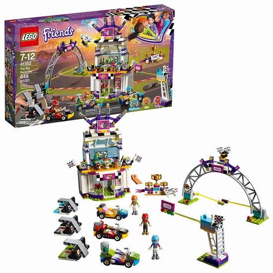 LEGO 乐高 41352 好朋友系列 盛大比赛日(648pcs)6.9折 54.99加元包邮!