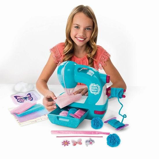 历史新低!Sew Cool Sew N 儿童安全缝纫机5.6折 25.46加元!