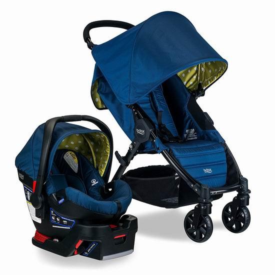 历史新低!Britax 百代适 Pathway & B-Safe 35 成长型婴儿推车+汽车安全提篮 365.1加元包邮!