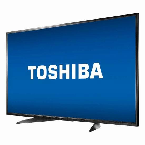 历史新低!Toshiba 东芝 55LF621C19 43/55英寸 4K超高清 Fire TV版智能电视 299.99-449.99加元包邮!会员专享!