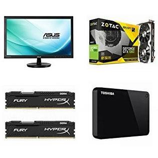 金盒头条:好折扣!精选 Asus、Toshiba、SanDisk、Kingston 等品牌显示器、显卡、WiFi系统、内存、主板、USB-C集线器、硬盘、移动硬盘、U盘、闪存盘等3.1折起!