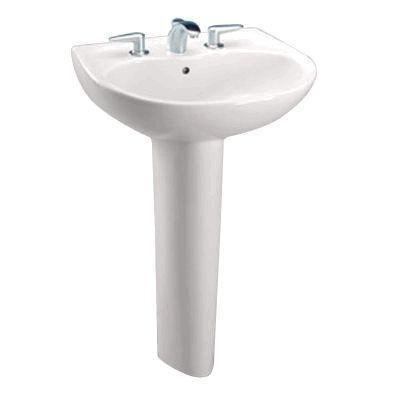 超级白菜!Toto LPT241G-12 Supreme 米色陶瓷洗手盆+底座套装1.2折 46.43加元包邮!