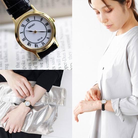 历史新低!Seiko 日本精工 SUP304 太阳能 女士腕表/手表4.8折 88.99加元包邮!