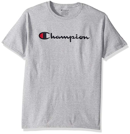 销量冠军!Champion 经典Logo短袖T恤 15.8加元起!超多款式可选!