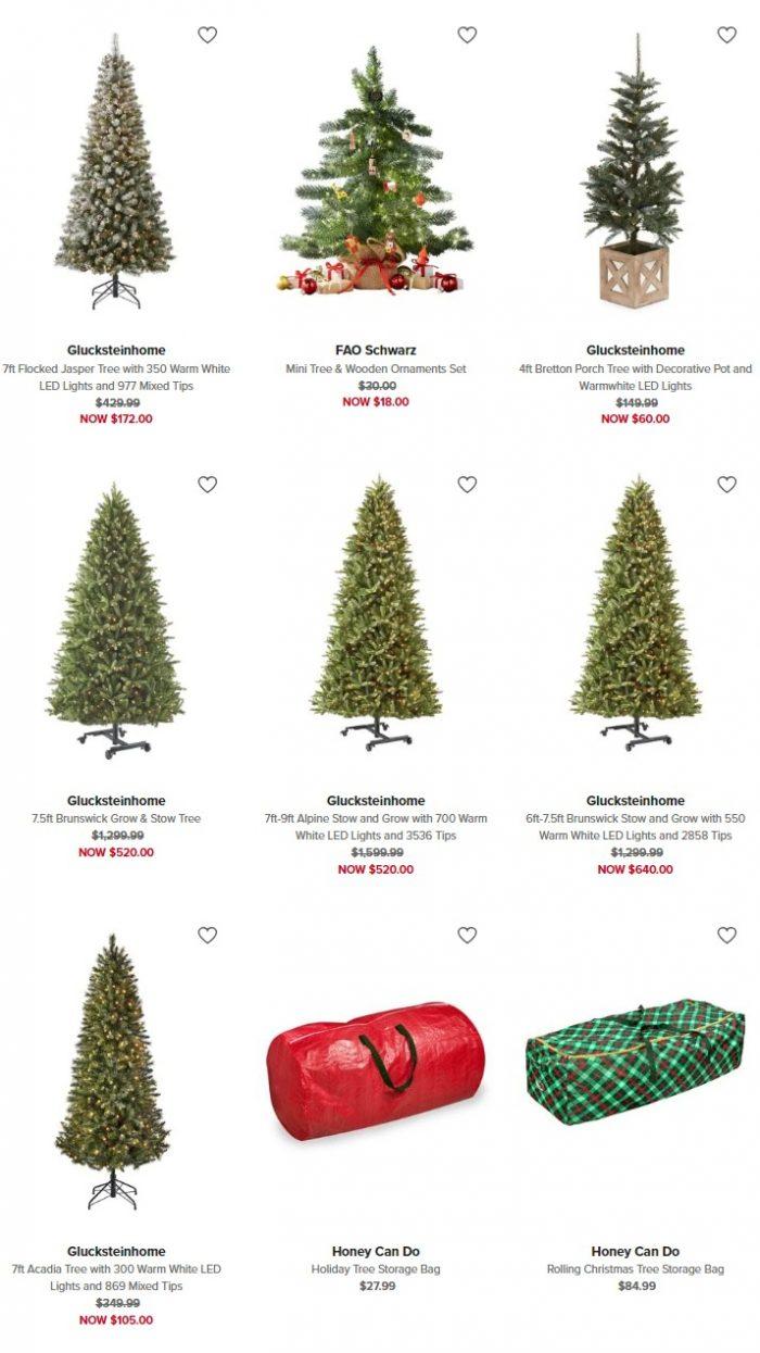 精选 Glucksteinhome 高品质预装彩灯圣诞树2.5折起清仓并包邮!7英尺圣诞树仅售89.25加元!
