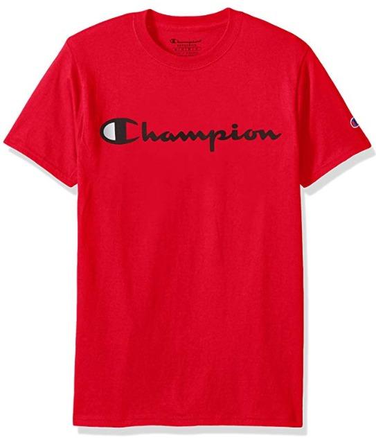 销量冠军!Champion 经典Logo短袖T恤 15.82加元起!超多款式可选!