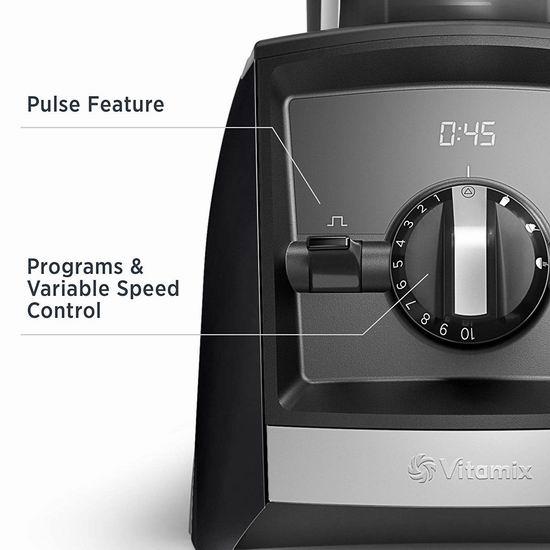 新一代 Vitamix 维他美仕 A2500 Ascent 全营养破壁料理机/搅拌机 489.86加元包邮!