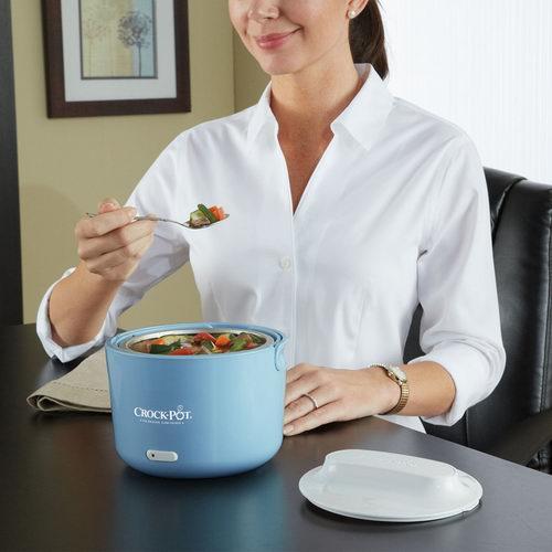 Crock-Pot Lunch Crock 电热午餐饭盒 蓝色款  16.99加元,原价 24.15加元