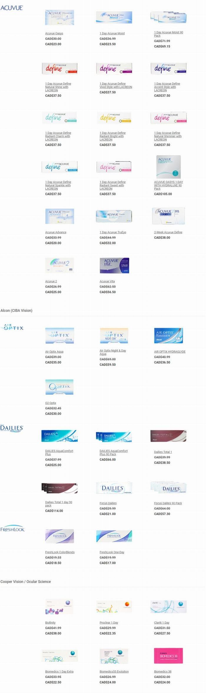 PerfectLens 母亲节大促最后一天!精选隐形眼镜、美瞳特价销售,额外8.5折!