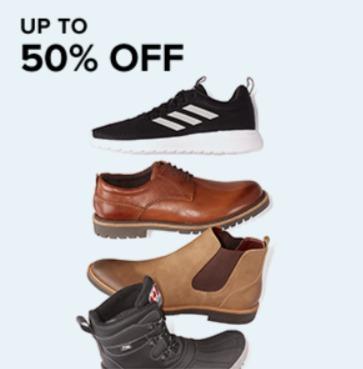 精选 Pajar、Clarks、Skechers、Nike等品牌男士运动休闲鞋、靴鞋 5折 19.99加元起特卖!