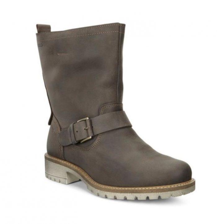 ECCO 爱步 ELAINE BUCKLE女士真皮短靴 89加元,原价 290加元