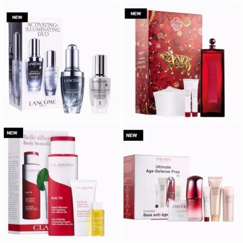 手慢无!Sephora 精选大牌新年限量版护肤品、口红、美妆 上市!护肤品享双倍积分,满送红包将有机会赢取888加元奖品!