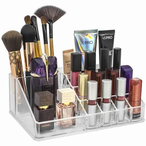 Sorbus Acrylic化妆品透明收纳盒 10.69加元,原价 20.09加元