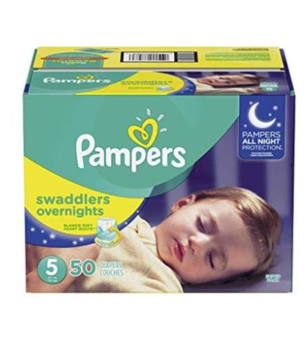 Pampers Swaddlers 新版夜用型婴儿纸尿裤 19.72加元(size3-6),原价 29.99加元,会员价 15.98加元