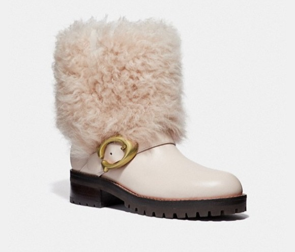 Coach Leighton Bootie女款雪地靴 247.5加元,原价 495加元,包邮