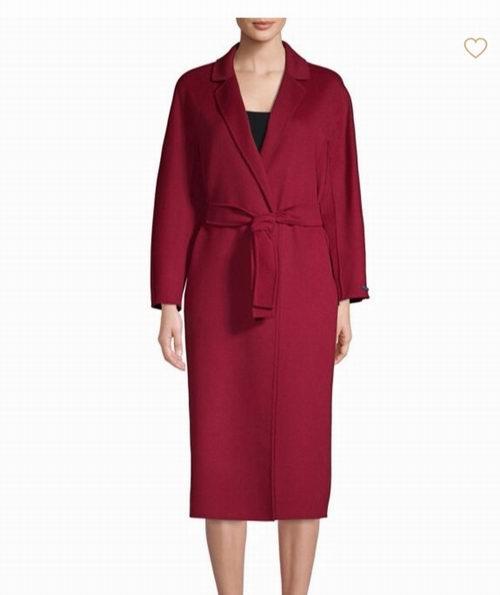 Max Mara Giungla Virgin 安哥拉羊毛束腰大衣 1400加元,原价 2335加元,包邮无关税!
