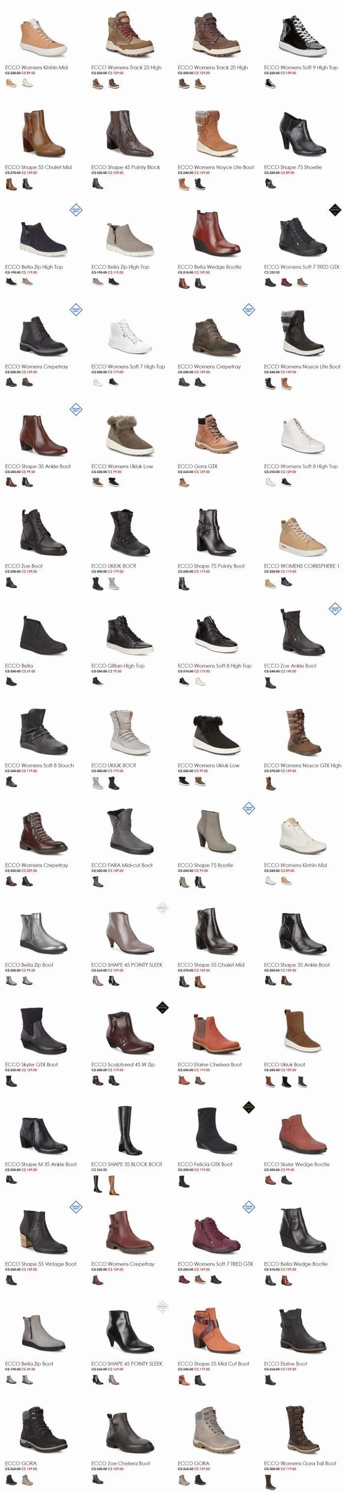 新款加入!ECCO 爱步 官网大促再减价!全场男女时尚鞋靴 5折起优惠!