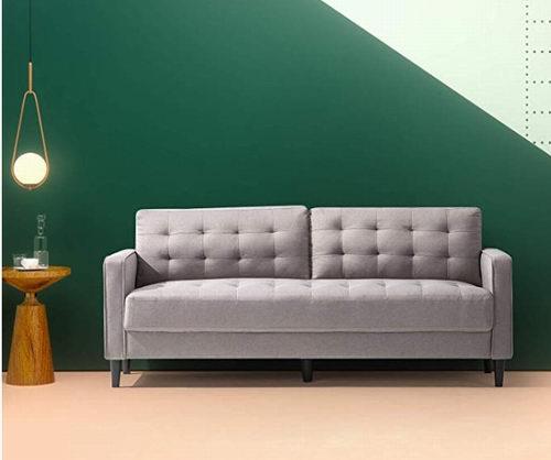手慢无!Zinus Mid-Century 78.4英寸双人沙发 255.49加元清仓特卖+包邮!