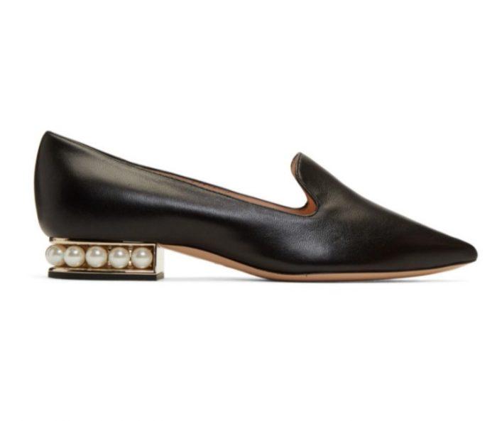 Nicholas Kirkwood Casati 珍珠乐福鞋 540加元,原价 900加元,包邮